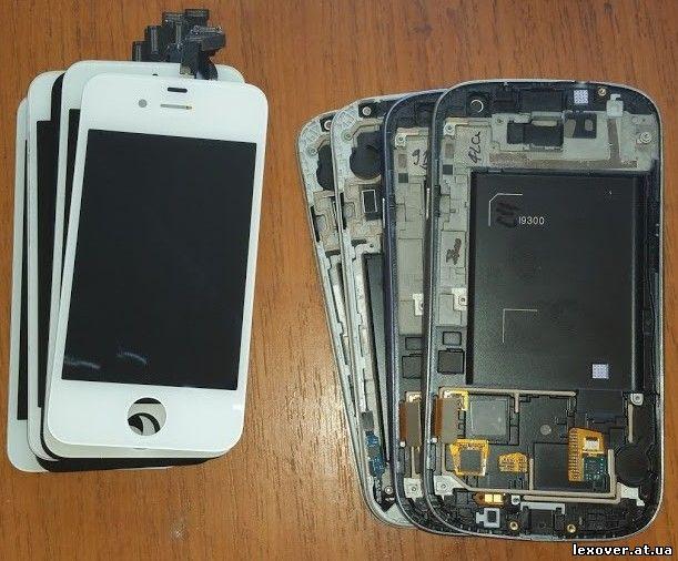 Замена дисплея iphone 5s своими руками